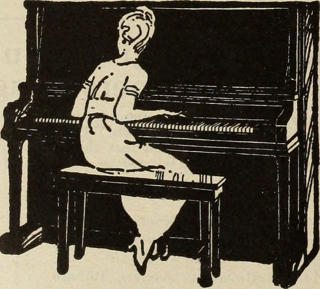 Pianul de sub degetele Anei