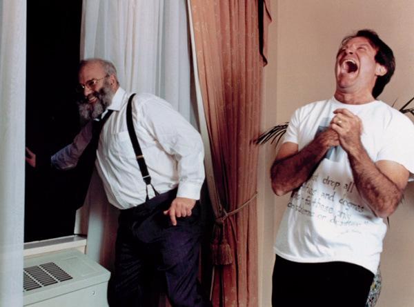 Oliver Sacks cu Robbin Williams