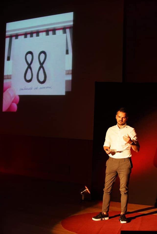 Vasi Rădulescu la TEDx Bacău