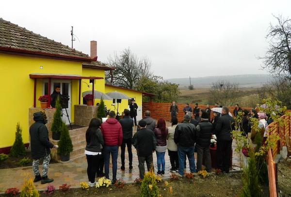 inaugurarea casei domnului D