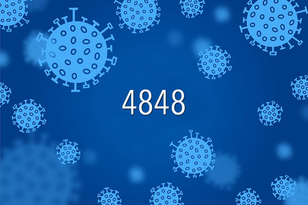 Record de cazuri: 4848