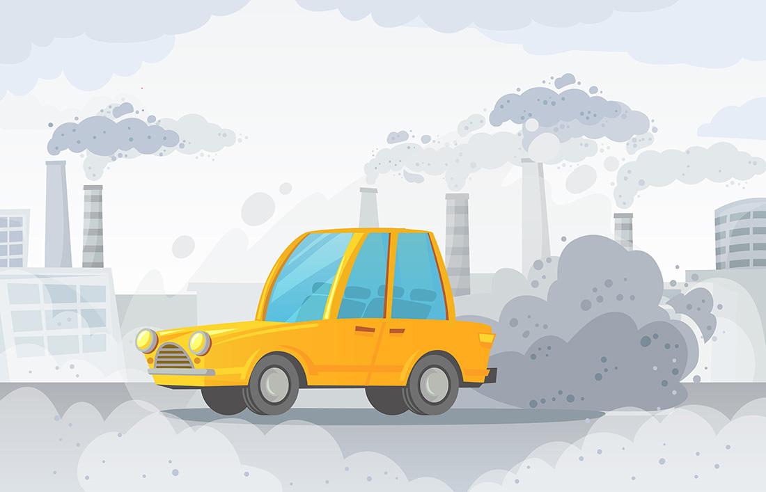 Poluarea aerului și afecțiunile legate de aceasta