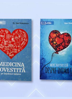 Pachet Medicina Povestită, 2 cărți