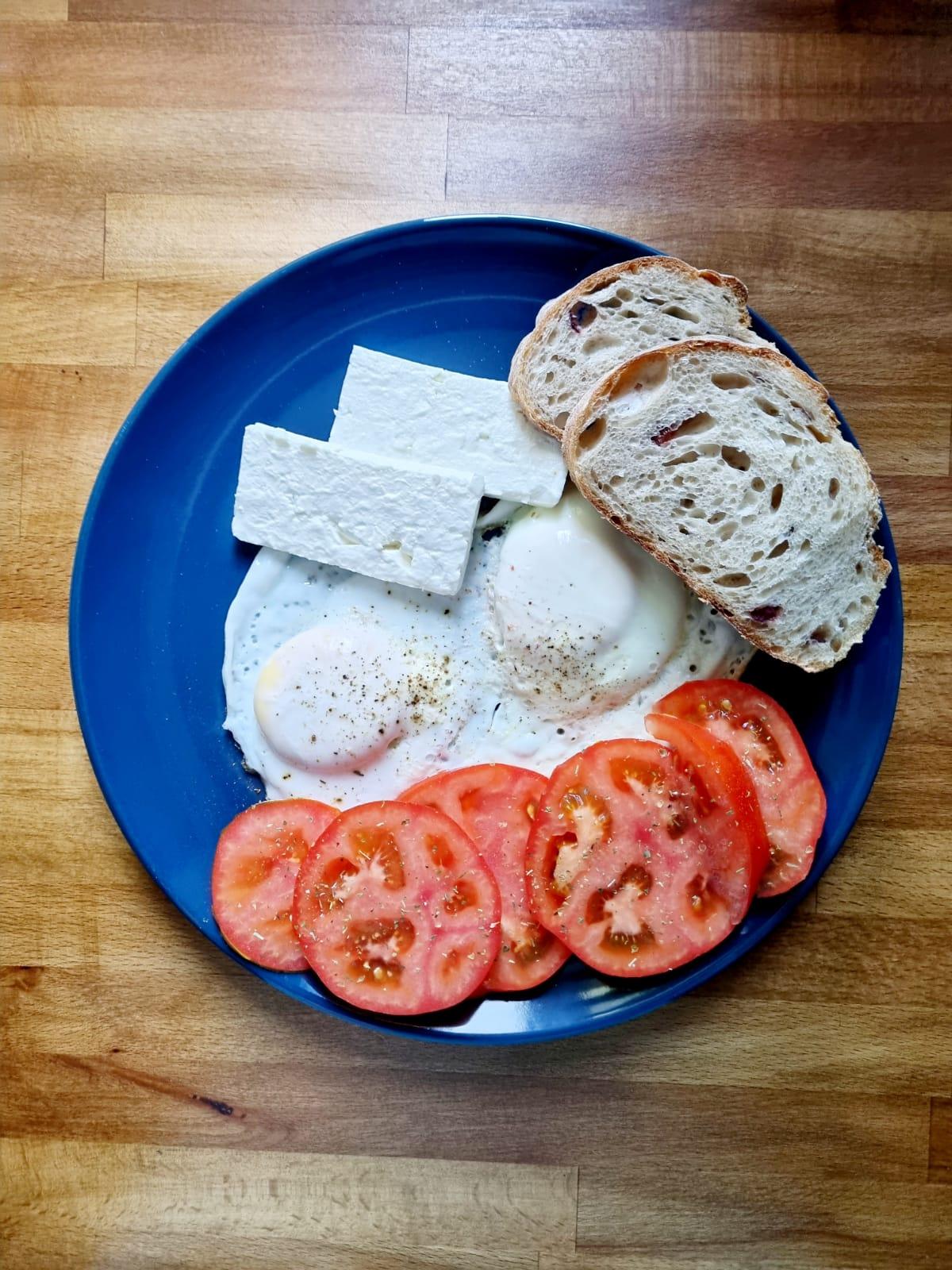 Ouă ochiuri cu puține calorii