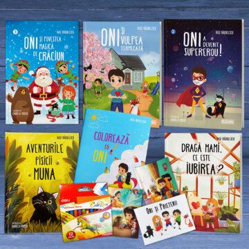 Special – Pachet 5 carti pentru copii + 5 cadouri